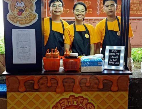 Waffle Craze: Waffles Food Cart Franchise