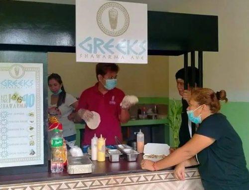 Greek's Shawarma Food Cart Franchise